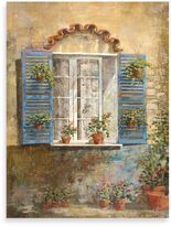 "Bed Bath & Beyond Michael Longo ""Flora Façade IV"" Canvas Print"