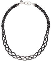 John Hardy Diamond Classic Chain Collar Braided Necklace