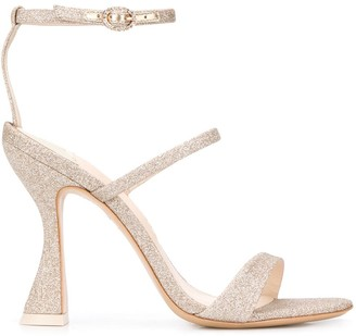 Sophia Webster Rosalind Hourglass glitter sandals