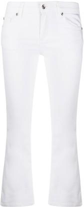 Liu Jo Cropped Bootcut Trousers