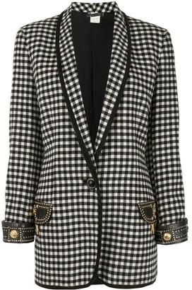 Versace Pre Owned Long Sleeve Coat Jacket