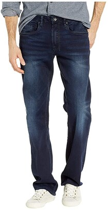Buffalo David Bitton Driven X Relaxed Straight in Authentic and Deep Indigo (Authentic and Deep Indigo) Men's Jeans