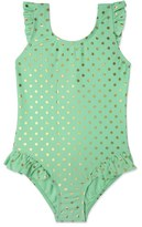 Hula Star Toddler Girl's 'Milkshake' One-Piece Swimsuit