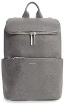 Matt & Nat 'Brave' Faux Leather Backpack - Grey