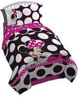 Disney Minnie 'Dots are the New Black' 5 Piece Twin Bed In A Bag