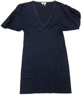 Saint Laurent Blue Cotton Dress