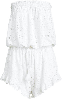 Ralph Lauren Eyelet Cover-Up Playsuit