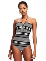 Old Navy Lace-Up Bandeau Swimsuit for Women