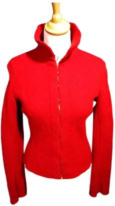 Alaia Red Wool Jackets