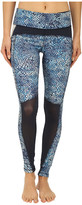 Zobha Fitted Leggings w/ Contrast Blocking