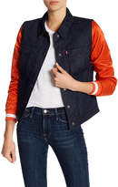 Levi's Bears Denim Varsity Trucker Jacket