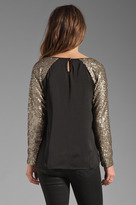 Lovers + Friends Glamour Top