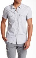 Rogue Striped Short Sleeve Trim Fit Shirt
