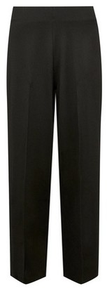Dorothy Perkins Womens Dp Petite Black Scuba Palazzo Trousers, Black