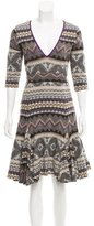 Matthew Williamson Printed Midi Dress