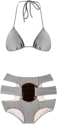 Adriana Degreas triangle bikini set