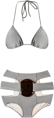 Adriana Degreas Triangle Bikini Set