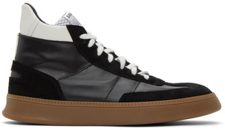 Spalwart Black Smash High Sneakers