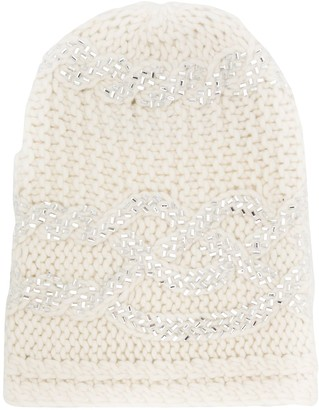 Ermanno Scervino Knitted Hat