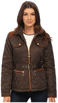 Vince Camuto Belted Quilted Jacket J8021