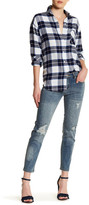 Just USA Mid Rise Cropped Cigarette Jean