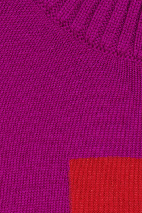 Maison Martin Margiela Intarsia wool sweater