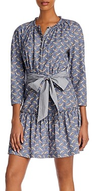 Rebecca Taylor La Vie Woodblock Printed Dress