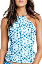 Seafolly Caribbean Ink High Neck Singlet