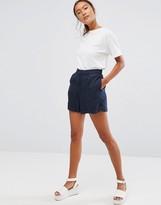 WÅVEN Tella Pleat Front Shorts
