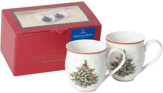 Villeroy & Boch Toy's Delight Christmas Tree Mug Set (Set of 2)