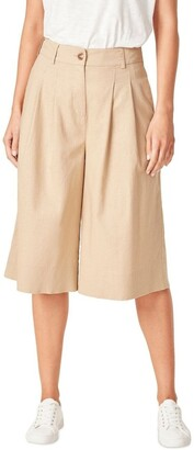 French Connection Linen Bermuda Short