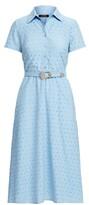 Thumbnail for your product : Lauren Ralph Lauren Ralph Lauren Belted Eyelet Cotton Shirtdress