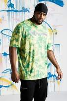 Big & Tall Quavo Slogan Tie Dye T-Shirt