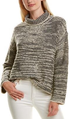 Eileen Fisher Popcorn-Knit Wool-Blend Sweater