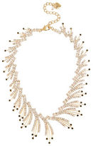 Betsey Johnson Crystal Spray Collar Necklace