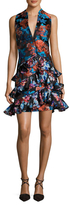 Mary Katrantzou Rokina Floral Printed Flared Dress
