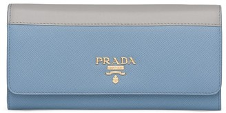 Prada Two-Toned Continental Wallet