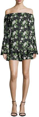 1st Sight Floral Mini Dress