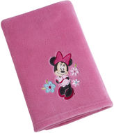 JCPenney DISNEY MINNIE Disney Minnie Mouse Fleece Blanket