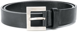 Gianfranco Ferré Pre Owned 2000s Square Buckle Beltq