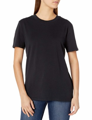 Volcom Junior's Women's One of Each Fitted Short Sleeve Tee - Black - X-Small