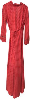 Ganni Spring Summer 2020 Red Viscose Dresses