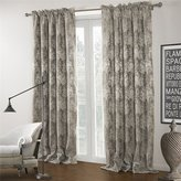 IYUEGOU Country Jacqaurd Rod Pocket Top Lining Blackout Curtains Draperies With Multi Size Customs (One Panel)