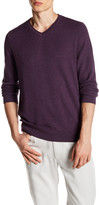 Vince Camuto Plaited V-Neck Sweater