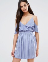 Oh My Love Frill Front Dress