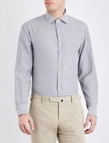 Ralph Lauren Purple Label Striped regular-fit cotton shirt