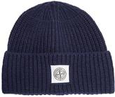 Stone Island Wool-blend knit beanie hat