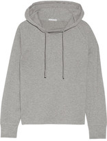 James Perse Cotton-blend Jersey Hooded Top - Gray