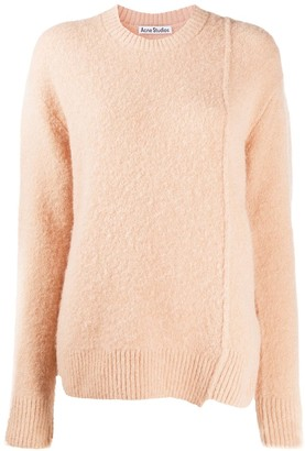 Acne Studios Knitted Crew Neck Jumper