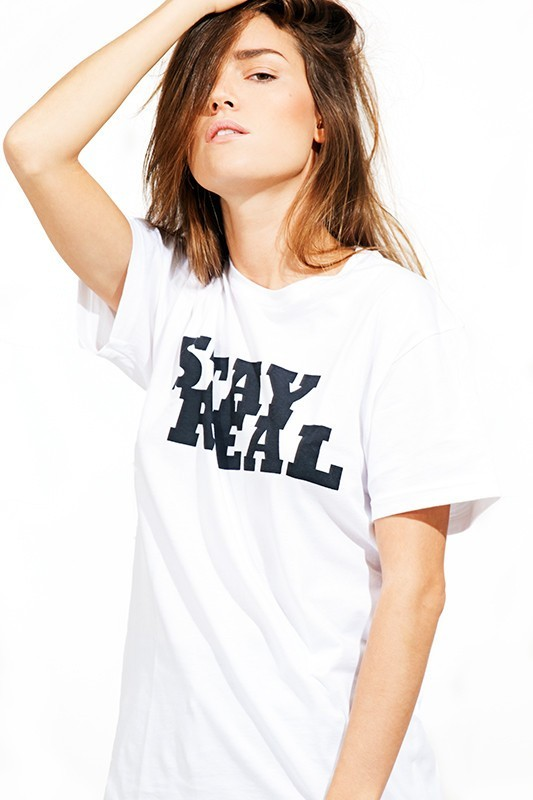 Brashy Couture Stay Real Tee